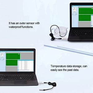 Image 4 - PCsensor USB מדחום טמפרטורת חיישן נתונים לוגר מקליט עבור מחשב נייד לבן