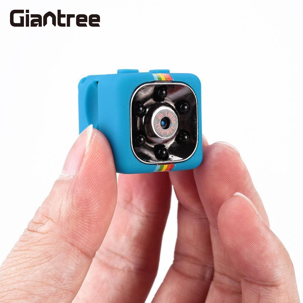 giantree SQ11 1080P Camcorder Night Vision Mini Camera Car Home Infrared Camera DVR DV Video Recorder Camcorder Video Recorder