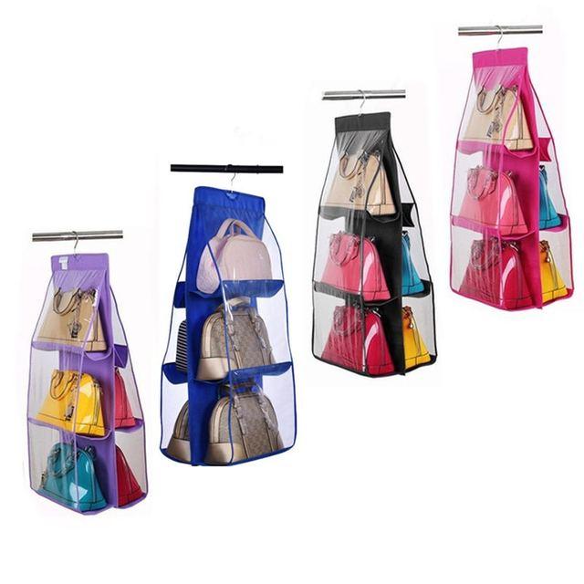 Six-layer Bag Organizer Hanging Storage