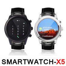 2016 Original Neue Smart Uhr 3G X5 K18 1,4 «AMOLED Android WiFi Bluetooth WCDMA SmartWatch GPS Display ähnlich Hua wei Uhr