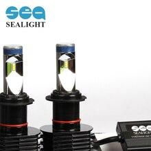SEALIGHT стайлинга автомобилей H7 90 Вт 12000LM LED Фары Противотуманные Фары Дневного Света Лампы Поворота Парковка Туман Лампа Белого огни
