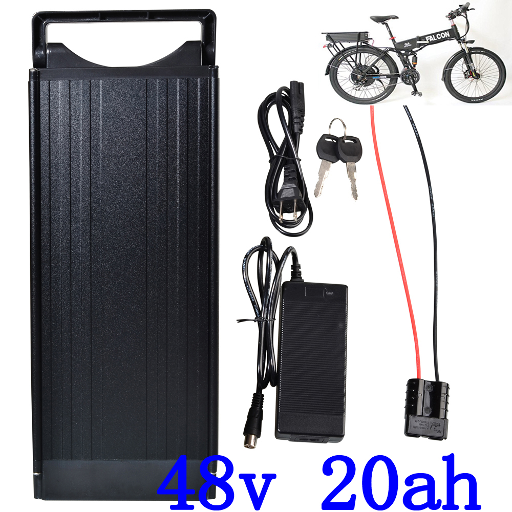 48V 20AH rear rack electric bike battery 48V 20AH Lithium ion ebike battery with tail Light for 48V 1000W 750W 500W motor48V 20AH rear rack electric bike battery 48V 20AH Lithium ion ebike battery with tail Light for 48V 1000W 750W 500W motor