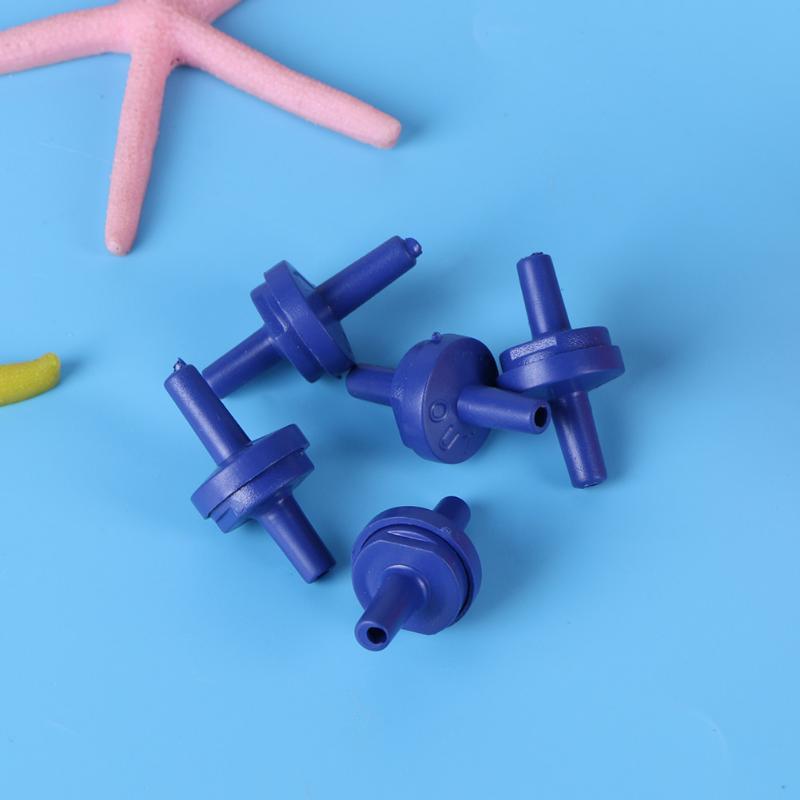 5 шт. пакет для аквариума, воздушный насос, обратный клапан, обратный клапан, защита от обратного потока, аквариумный клапан, пробка, воздушны...