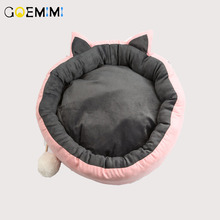 2019 Cat Bed House Pet Dog for Bench Cats Cotton Pets Products Puppy Soft Comfortable Winter
