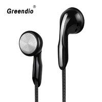 Greendio Bass Kopfhörer In-Ear Noise Stornieren Ohrhörer HIFI Stereo Surround Sound Video Spiel Hörer mit HD Mic Für mobile/PC/MP3