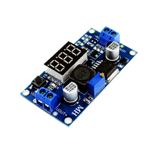 LM2596 LM2596S  LED Voltmeter  ADJ DC — DC Step-down Step Down  Adjustable Power Supply Module With Digital Display for Arduino