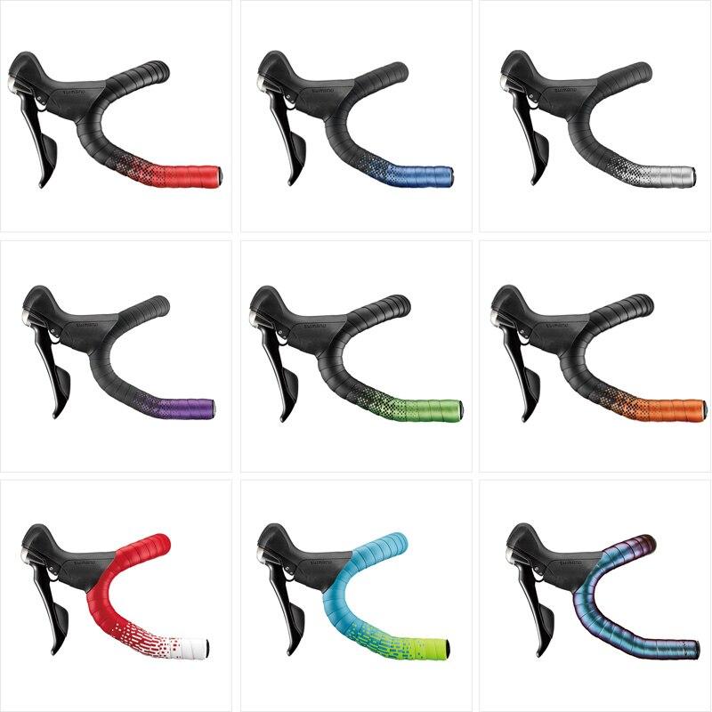 Ciclovation лента для руля Расширенная барная лента с кожаным сенсорным гелем для шоссейного велосипеда велосипедная лента гоночная велосипедная обертка аксессуары