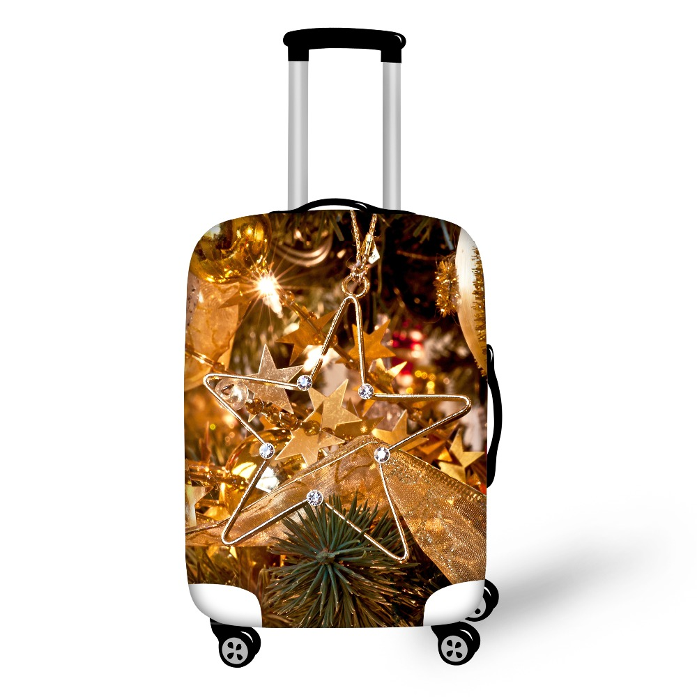 FORUDESIGNS Most Fashion And Best selling Travel Accessories For Merry Christmas Gifts Luggage Protective Cover Suitcase