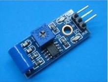 1 шт./лот SW-420 нормально замкнутый вибрации сигнализации Сенсор модуль Вибровыключатель