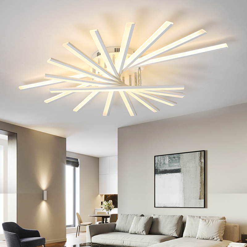Modern wrought-iron acrylic LED interior lighting home improvement ceiling lamp lamparas de techo Surface mounted ceiling lights modern acrylic wrought iron dish impossible series interior lighting lamparas de techo ceiling light fixtures led surface mounte