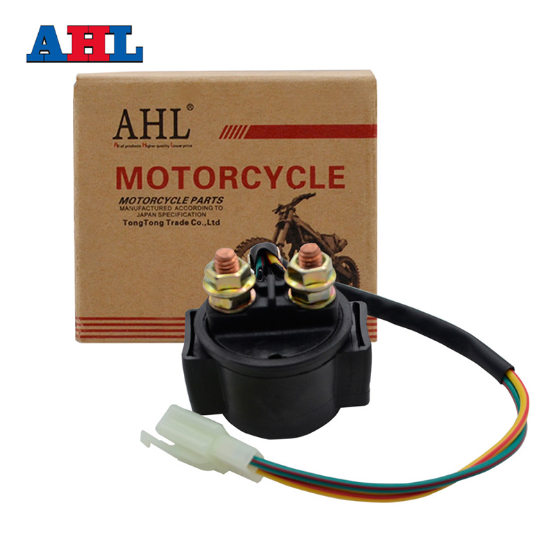 Motorcycle Electrical Starter Solenoid Relay Switches For <font><b>HONDA</b></font> CB500T CB500 CX500 CB550 CB750 CB750F GL1000 Goldwing 1978 CBX image