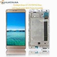 Prestigio Grace S7 LTE PSP7551Duo PSP 7551 DUO LCD Display Touch Screen Digitizer Panel Sensor Lens