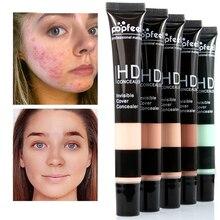 Основа для макияжа, 5 цветов, консилер, крем, основа для кожи, полное покрытие, темный круг, глаза, макияж, Праймер, косметика