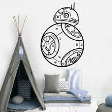 Creative star wars Home Decor Modern Acrylic Decoration For Kids Rooms Nursery Room Decal Stickers