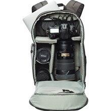 모든 날씨 커버와 함께 새로운 정품 Lowepro 교통 배낭 350 AW SLR 카메라 가방 배낭 어깨 도매