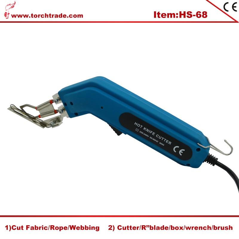 Electric Cloth Cutter Fabric Hot Knife Cutting Machine