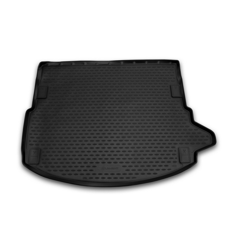 Mat rear trunk lid cover trim For LAND Rover Discovery Sport 2014-> 5 seats, внед... without рейлингов, 1 PCs (polyurethane) mat trunk for toyota lc150 prado 2017 5 seats внед 1 pcs polyurethane