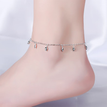 1PC Hot Summer Beach Ankle Infinite Silver Color Foot Jewelry Anklets ankle bracelets for women Hand Spinner