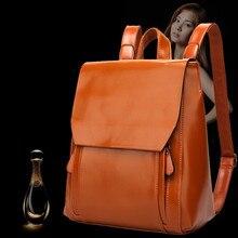 Натуральная кожа бесплатная доставка Коровьей Рюкзак shengdilu марка 2016 женщин сумка мешок школы Высокого класса mochila рюкзак женский сумка женская рюкзак женщины рюкзаки для девочек рюкзак кожа сумки женские