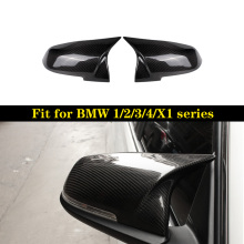 купить One Pair Carbon Mirror Cover For BMW F20 F21 F22 F23 F87(M2) F30 F31 F34 F32 F33 F36 Car Mirror Protecter Replacement по цене 3074.19 рублей