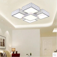 LED 31W 40W Acrylic Restaurant Contemporary And Contracted Sitting Room Big Bedroom Atmosphere Absorb Dome Light 220 240V