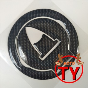 Carbon Motorcycle Oil Gas Fuel Tank Cap Protector Pad Decal Sticker For Ducati Diavel 1198 696 796 1100 1089 848(China)