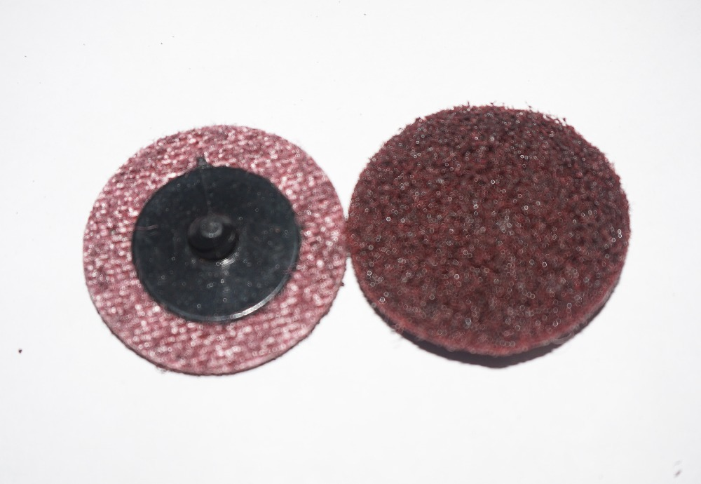 1 Pc 2 Roloc Disc Holder And 6 Pcs Surface Conditioning 3M Red Medium Sanding Discs In Abrasive Tools From On Aliexpress