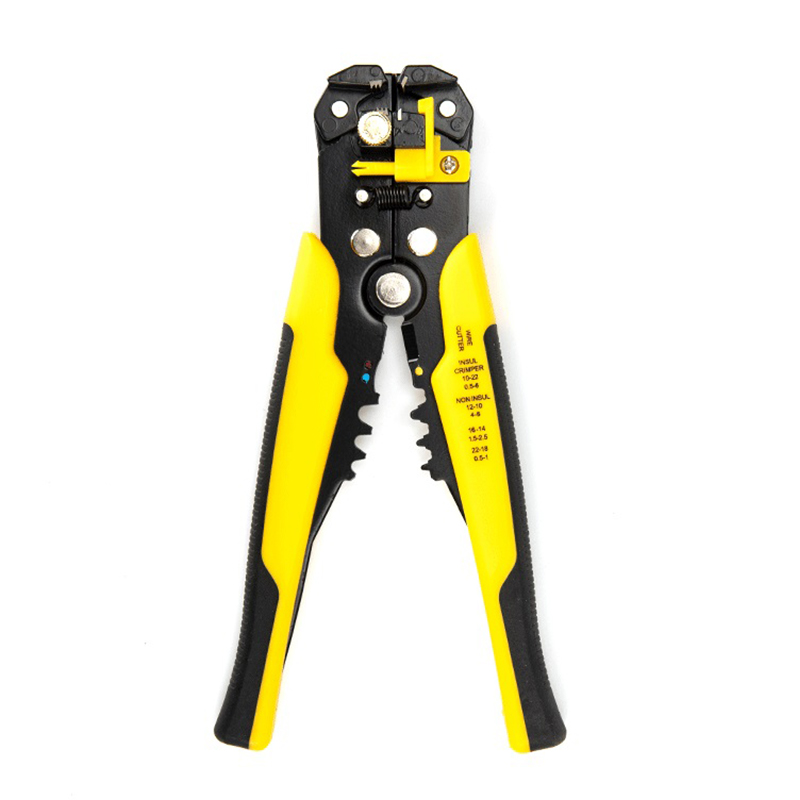 FIXFANS Automatic Cable Wire Stripper Cutter Crimper Multi-functional TAB Terminal Crimping Stripping Cutting Pliers Hand Tools цена