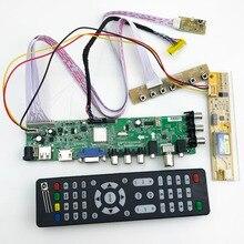 15 32 pouces universel numérique TV conseil support DVB T2/T/C russe langue LCD TV contrôleur pilote carte 366316