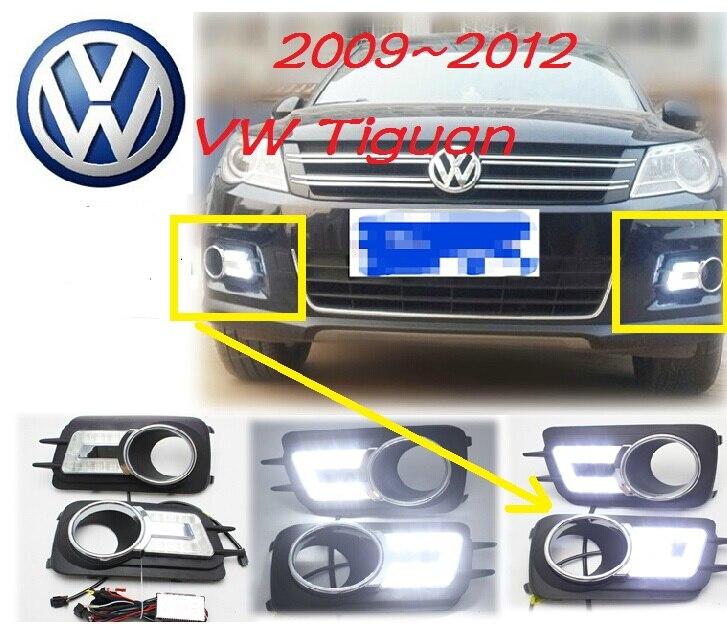 Tiguan Daytime light;2009~2012, Free ship!LED,Tiguan fog light,2ps/set;Tiguan,Touareg цена