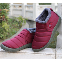 New Couple Winter Warm Boots
