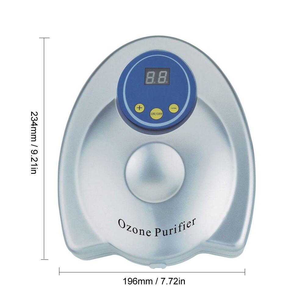 Ozoniseur purificateur d'air et d'eau générateur d'ozone à la maison désodorisant de salle de lavage stérilisation à l'air synchronisation numérique