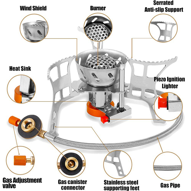 Camping Stove Ultralight Foldable 4