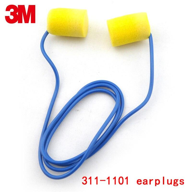 3 м 311-1101 для ушей защиты подлинной безопасности 3 м шума беруши противопожарные огнезащитных анти шума Мягкие беруши