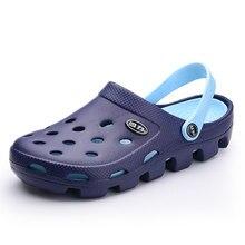 Clogs Men Beach Slippers Summer Rubber Sandals Unisex Shoes Mules Flip Flops Pantufas Chinelos Garden Fashion Eva Zapatos Hombre