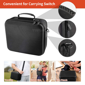 Image 3 - Nintend Swicth Deluxe EVA Travel Carry Case Big Capacity Storage Bag Protective Hard Bags for Nintendoswitch Game Accessories