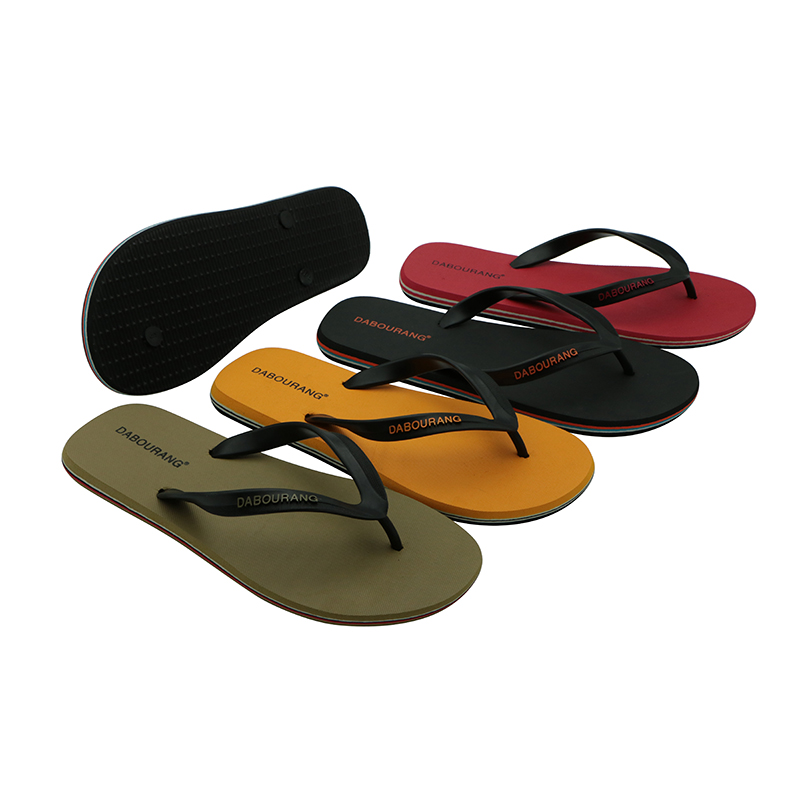 2016 Hot Sales Summer Fashion Men Flip Flops Shoes Casual Slippers Plus Size 39-44 Flat Sandals Men's Beach Slide Shoes hot sale new 2016 summer eva shoes fashion flip flops men sandals male flat massage yellow beach slippers size 39 44