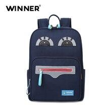 Wnner Дизайн милые большой глаз пользовательские школьная сумка самые популярные рюкзак брендов имя для детей школьного рюкзака