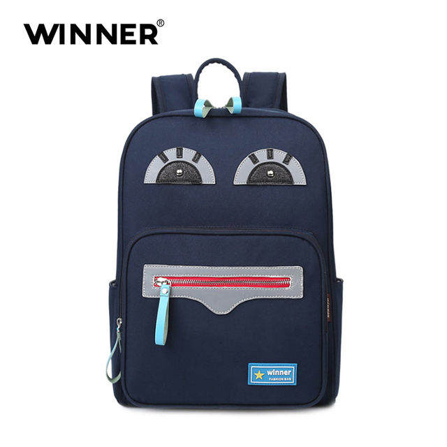 0a86151c07 WNNER Design Cute big eye custom school bag best popular backpack brands  name for kids school backpack
