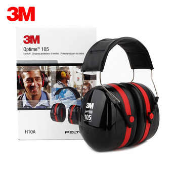 3M H10A Safety Protective Earmuffs Professional Soundproof Ear muffs Headset Sound Insulation Anti-noise Hearing Protector 30dB - DISCOUNT ITEM  43% OFF All Category