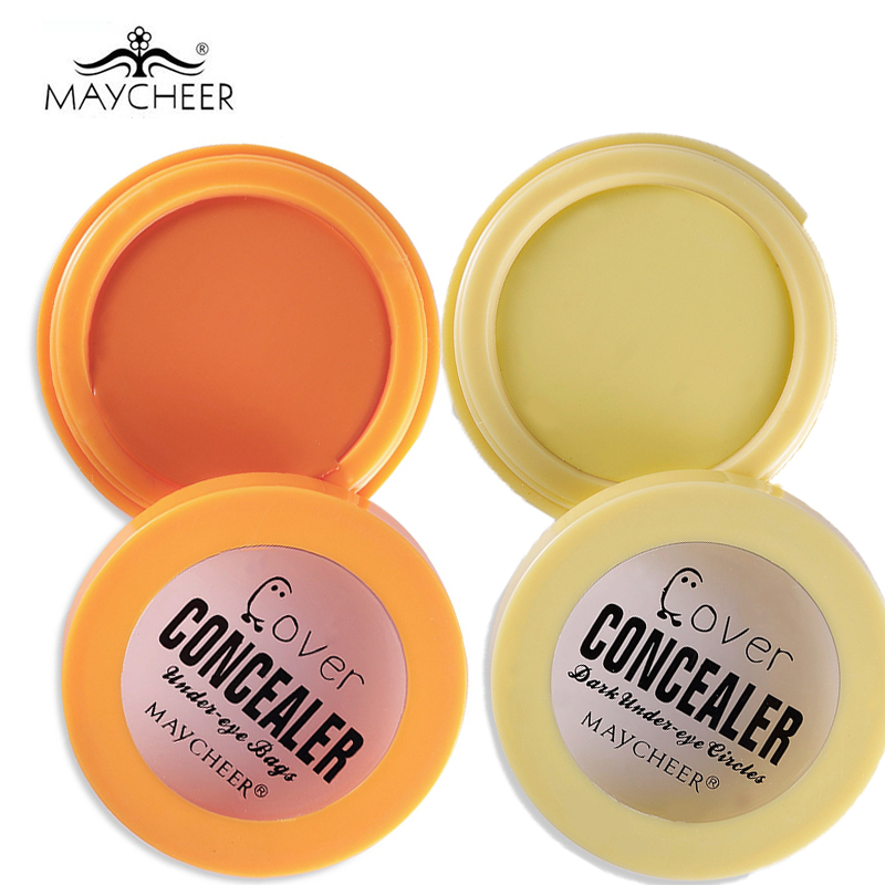 MAYCHEER Brand Makeup Eye Concealer Cream Cover Eye Bags Dark Circles Moisturizing Oil-control Face Primer Contour Palette