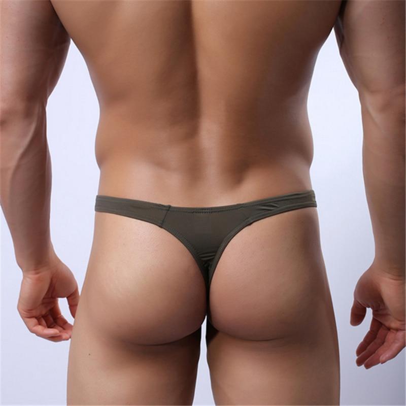 Schwimmen Sport & Unterhaltung Hot Sexy Männer Tanga Slip Unterwäsche Tanga Eis Seide Dünne Höschen Pouch Bikini Strand Body Dessous Kurze Männlichen Unterhose M-2xl