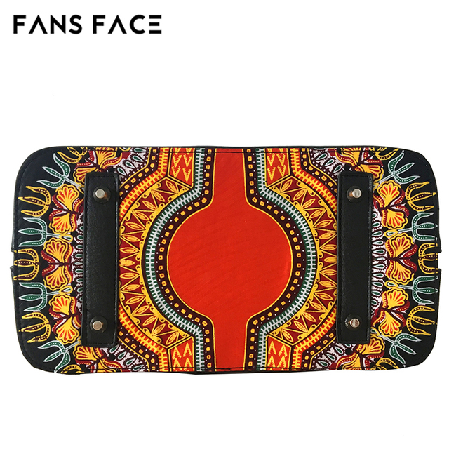 FANS FACE Luxury Handbags Women Bags Designer Traditional African Style High Quality African Fabric Dress Accessories 4