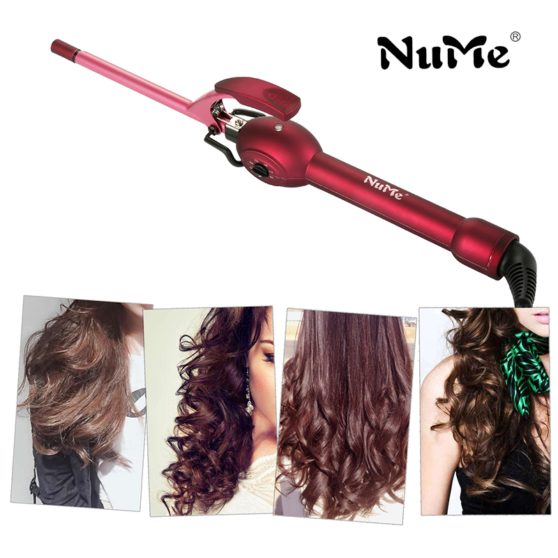 9mm curling iron hair curler rulos krultang professional hair curl irons curling wand roller magic care beauty hair styling tool