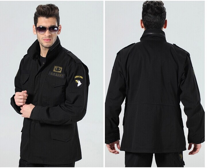 Us Army Military Uniform For Men Spring Autumn And Winter Outdoor Jacket Shirt Liner Can Add Army Uniform M-XXXL