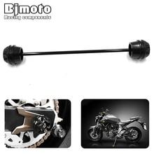 Motorbike Rear Axle Fork Crash Sliders Protector Cap Falling Protection For YAMAHA MT-07 MT07 2013 2014 2015 недорого