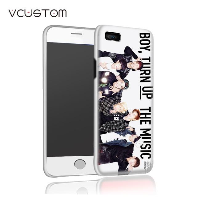 vcustom white hard cases for IPHONE 5 5s 2017 Bangtan Boys