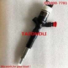 Original e nova Common rail Injector 095000-7780,095000-7781,095000-8290,23670-0l050 para 23670-30280 23670-39310 23670-39185