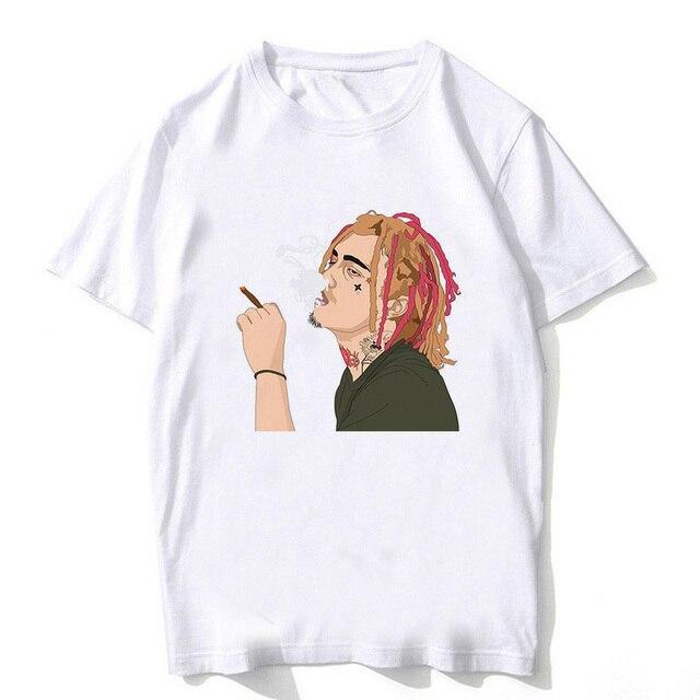 70857673e64b 2018 Lil Pump Shirt Men New Print Rapper Lil Pump Esketit T Shirt Summer Tops  Lil Pump Tshirt Fashion Hip Hop T-shirt Tee Male