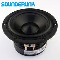2PCS LOT Audio Labs Top End 5 25 Ceramic Pots Bass Driver Woofer Subwoofer Transducer Speaker